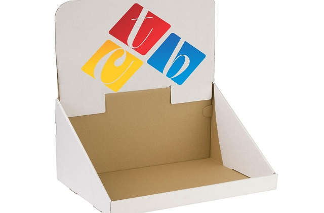 display boxes with logo