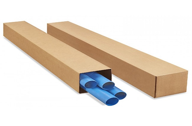 telescoping boxes for retail packaging
