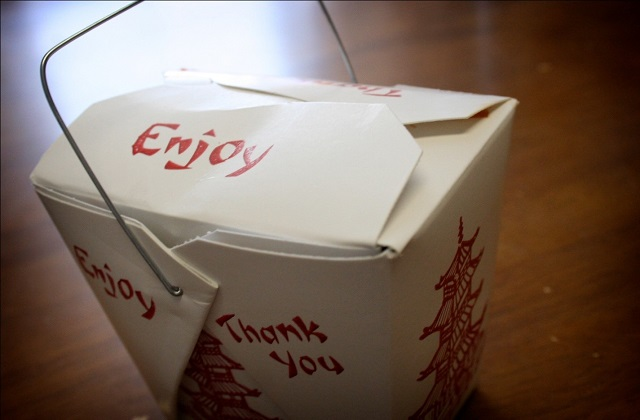 Chinese takeout gift boxes
