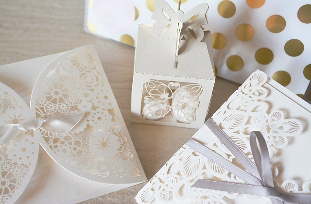 Decorated gift boxes