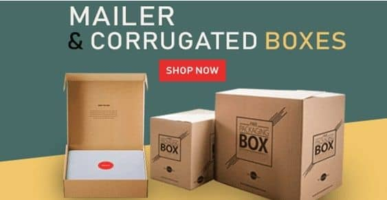 Mailer & Corrugated Boxes