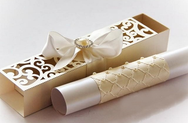 invitation boxes for wedding
