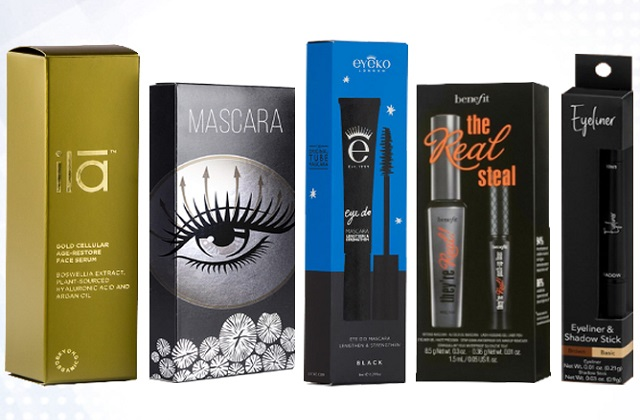 prints on mascara boxes