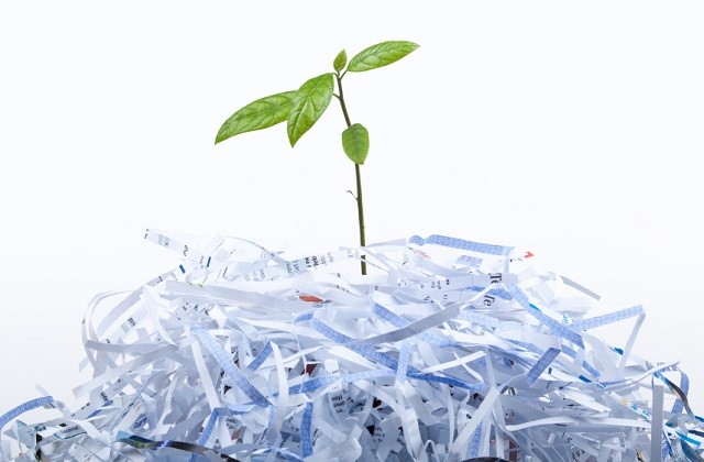 recyclability of paper