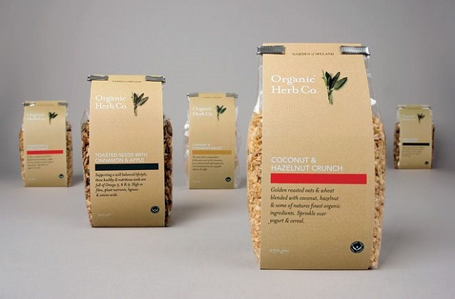 organic material packaging