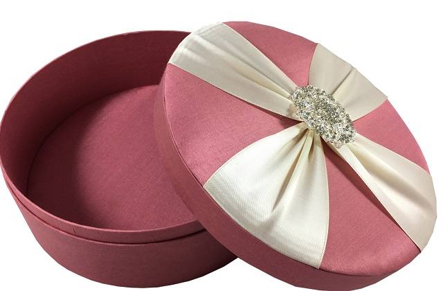 round cake boxes for weddings