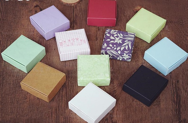 colorful soap boxes