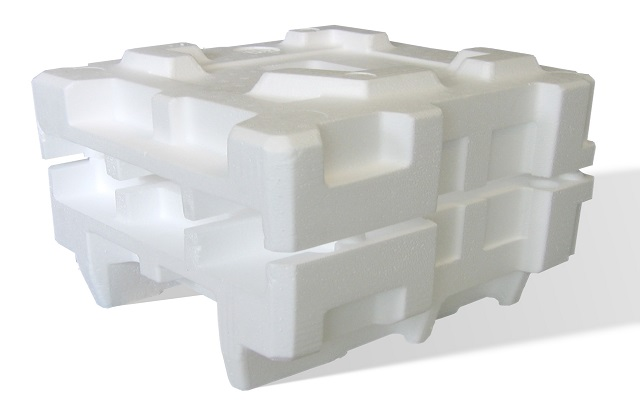 Styrofoam temperature controlled containers