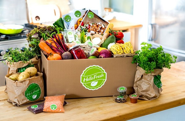 healthy food box