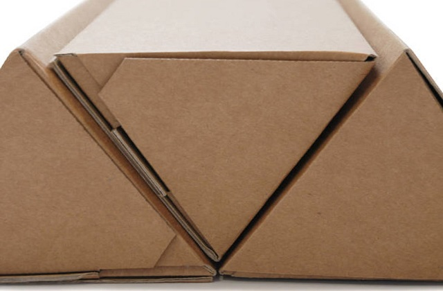 triangular boxes