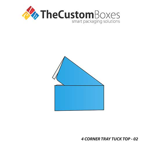 4 Corner Tray Tuck Top Box