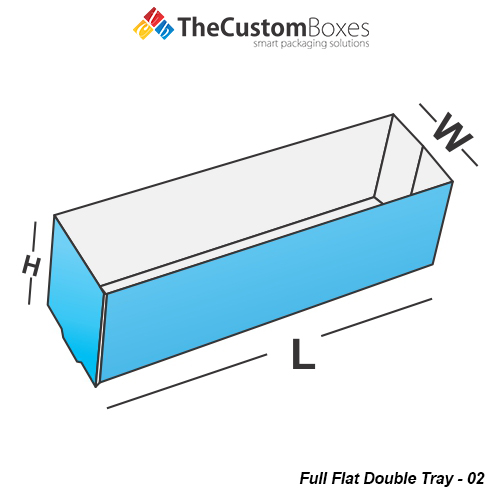 Full Flat Double Tray Front