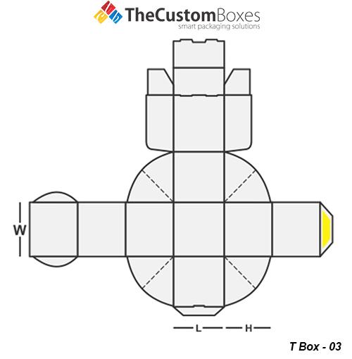 T Box Design Template