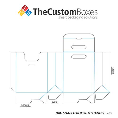 Bag-Shaped-Box-With-Handle-full-template