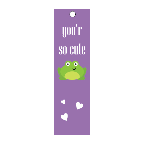 Purple Color Bookmarks