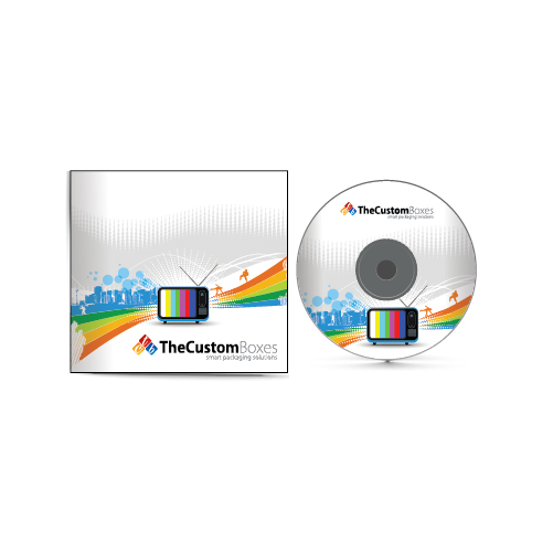 CD and DVD boxes printing and packaging solutions
