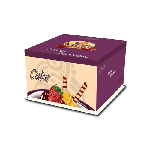 Boxes packaging for cake and bakery products