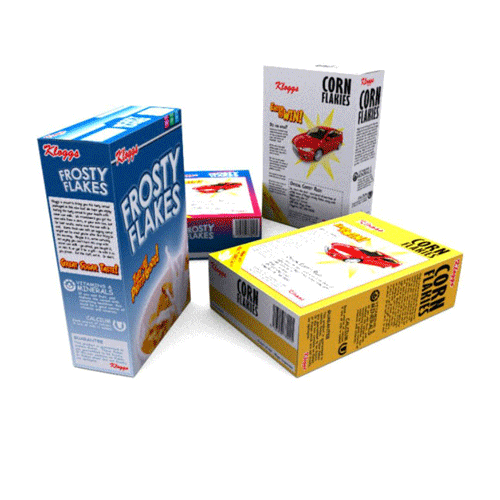 Cereal Boxes packaging and printing