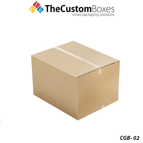 Corrugated Boxes | Custom printed Corrugated Boxes at