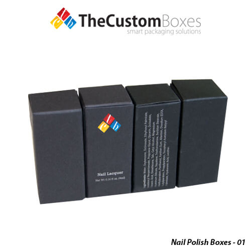 Custom Nail Polish Boxes Nail Polish Boxes Packaging