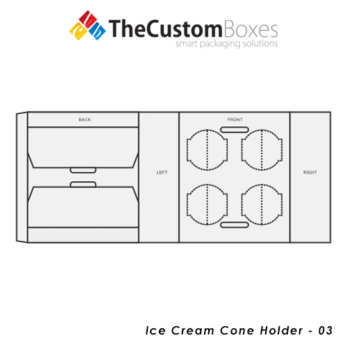 Custom-Ice-Cream-Cone-Holder-Design