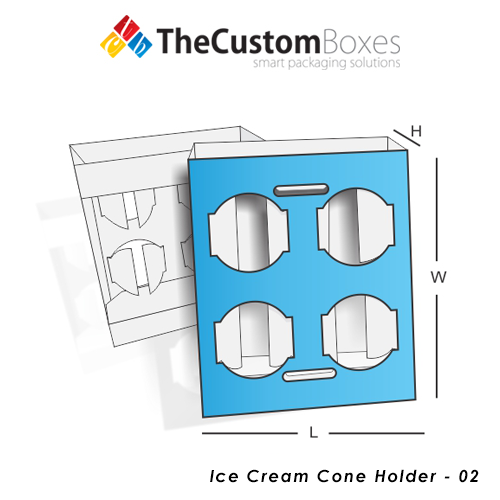 Custom-Ice-Cream-Cone-Holder