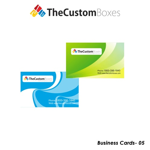Custom business card printing and packaging the custom boxes custom prnited business cards reheart Choice Image