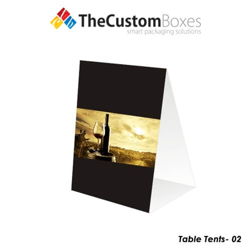 Custom-table-tents  sc 1 st  The Custom Boxes & Custom Table Tents Printing and Designing