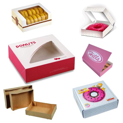Custom Printed Donut Boxes - PakFactory