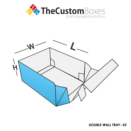 Double-Wall Tray-Box
