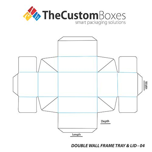 Double-Wall-Frame-Tray-&-Lid-template