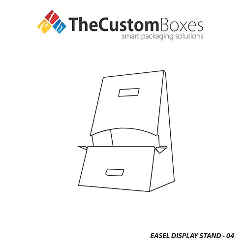 Easel-Display-Stand-template