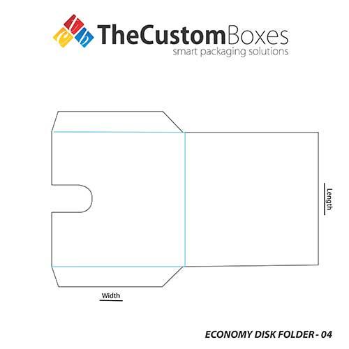 Economy-Disc-Folder-template