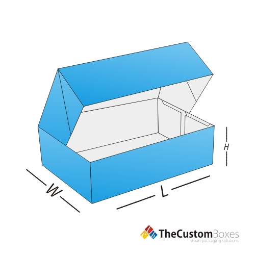 Four-Corner-Cake-Box -boxes-designs