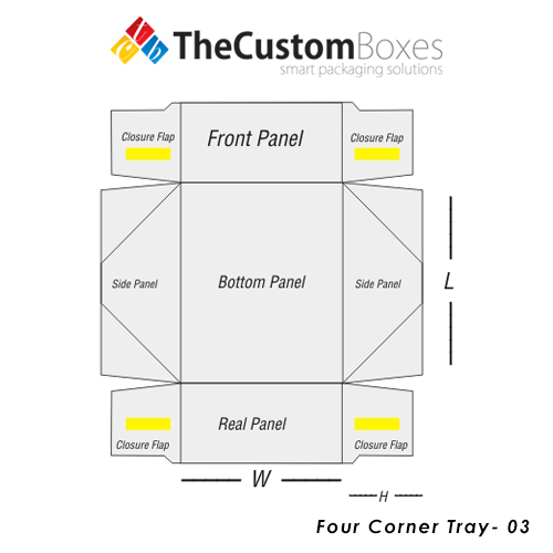 Four-Corner-Tray-Design