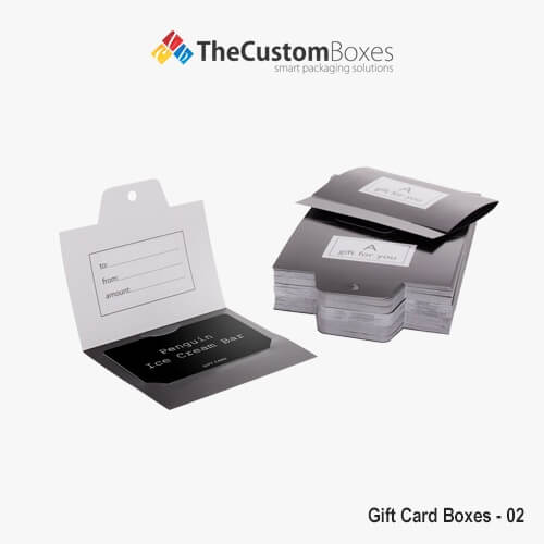 Gift Card Boxes | Custom made Gift Card Holders
