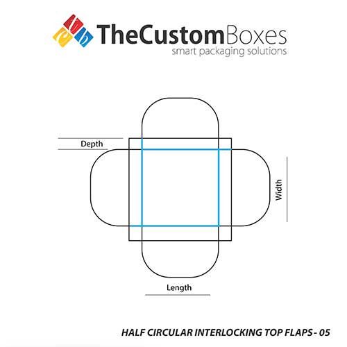 precise elegant half circular interlocking boxes at cheap prices