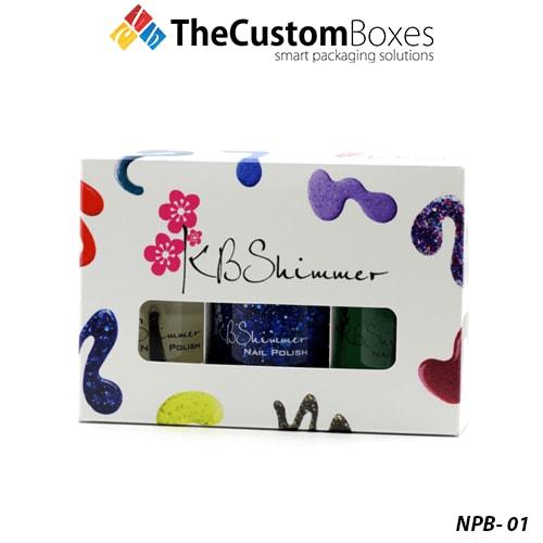 Custom Nail Polish Boxes | Nail Polish Boxes Packaging Wholesale