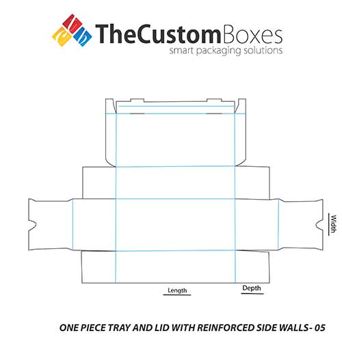 One-Piece-Tray-And-Lid-With-Reinforced-Side-Walls-full-template