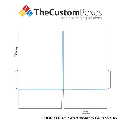 Pocket-Folder-With-Business-Card-Slit-template