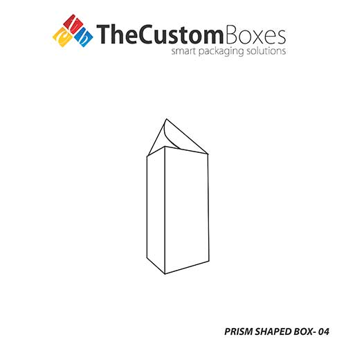 Fancy Prism Shaped Box Packaging The Custom Boxes