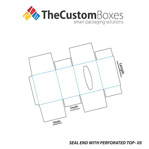 Seal-End-With-Perforated-Top-Template