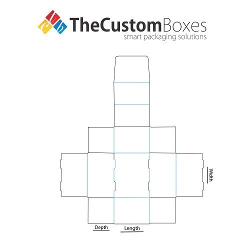 Side-Lock-Tuck-Top-Display-Box-Template