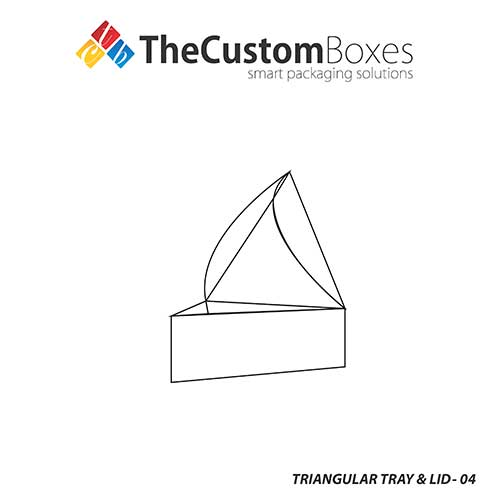 Thecustomboxes offers custom printed triangular tray lid triangular tray and lid template maxwellsz