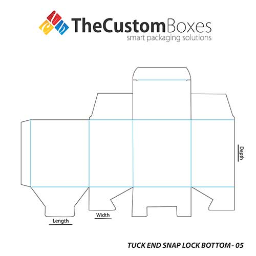 Tuck-End-Snap-Lock-Bottom-full-template
