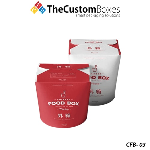 Chinese Food Boxes Wholesale Custom Printed Chinese Food