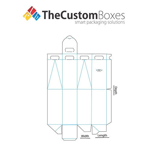 The custom boxes wine bottle carriers template pronofoot35fo Images