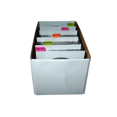 display DVD storage Boxes designs