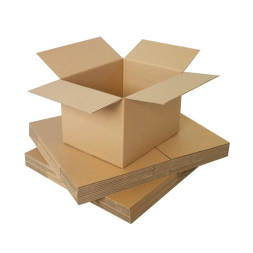 Cardboard material boxes for packaging