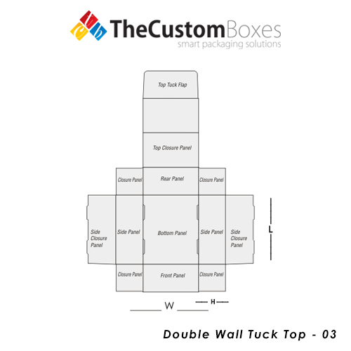 double wall tuck top design and structure